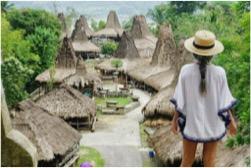 Destinasi Wisata Sumba Kampung Praijing